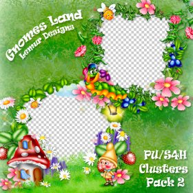 Gnomes Land Clusters 2 PU