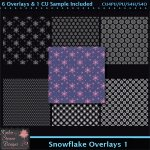 Snowflake Overlays 1 Tagger Size CU