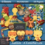 Autism - A Colorful Life FS