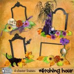 Witching hour cluster frames