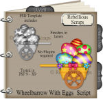 Wheelbarrow With Eggs Script