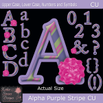 Alpha Purple Stripe - FS CU