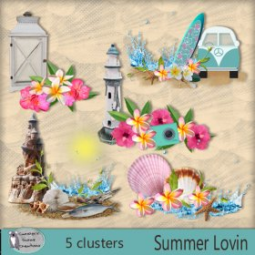 Summer lovin clusters