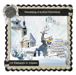 AngelKKreationZ-DreamingOfABlueChristmas TS Kit PU