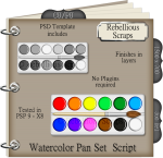 Watercolor Pan Set Script