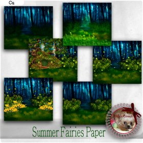 DC_CU Summer Fairies Paper