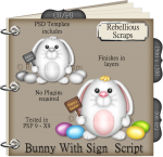 Bunny With Sign Script