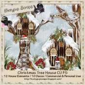 Christmas Tree House Cu 4 Cu Mix FS