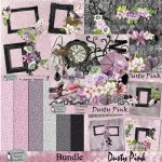 Dusty pink bundle