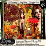AUTUMN HARVEST SCRAP KIT - TAGGER SIZE