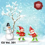 CU Vol. 351 Christmas Winter by Lemur Designs