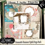ROMANTIC SUMMER QUICK PAGE PACK TAGGER SIZE