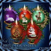 CU Christmas Candles