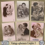 Vintage Ephemera Couples 3