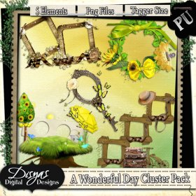 A WONDERFUL DAY CLUSTER PACK TAGGER SIZE