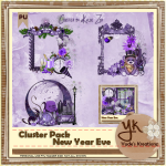 New Year Eve Cluster Pack