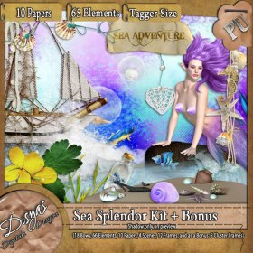 SEA SPLENDOR KIT + BONUS - TAGGER SIZE