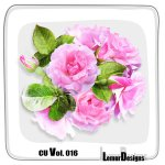 CU Vol. 016 Flowers by Lemur Designs