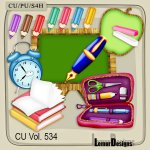 CU Vol. 534 School Stuff