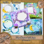 FAIRY OF DREAMS QUICK PAGE PACK - TAGGER SIZE