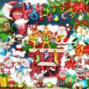 Spirit of Christmas Kit PU by Lemur Designs