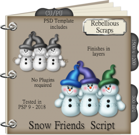 Snow Friends Script