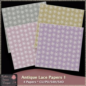Antique Lace Papers 1 CU