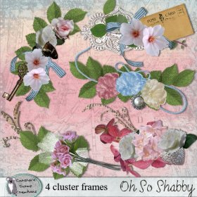 Oh So Shabby clusters