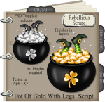 Pot Of Gold With Legs Script
