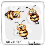 CU Vol. 157 Bees by Lemur Designs