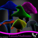 CU Fantasy Mushrooms 1