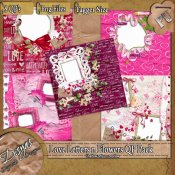 LOVE LETTERS AND FLOWERS QUICK PAGE PACK TS