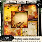 THANKSGIVING SEASON STACKED PAPER PACK - TAGGER SIZE