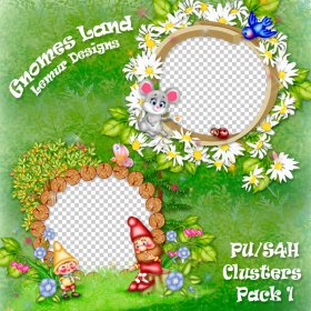 Gnomes Land Clusters 1 PU