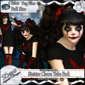 SINISTER CLOWN TUBE PACK - CU