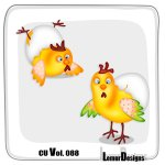 CU Vol. 088 Chicken by Lemur Designs