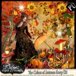 THE COLORS OF THE AUTUMN SCRAP KIT - FS