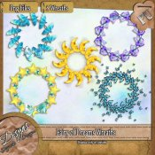 FAIRY OF DREAMS WREATH PACK - TAGGER SIZE