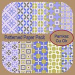 Patterned Papers Pack 1
