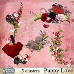 Puppy love clusters