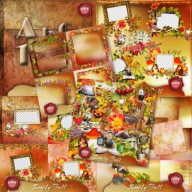 Simply Fall Bundle by Lemur Designs