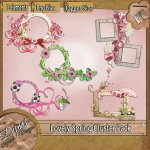 LOVELY SPRING CLUSTER PACK TAGGER SIZE