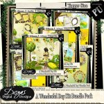 A WONDERFUL DAY BUNDLE KIT TAGGER SIZE