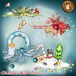 Christmas wish Clusters PU by Lemur Designs