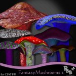 CU Fantasy Mushrooms 2