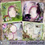 Enchanted lands quick pages
