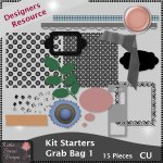 Kit Starters Grab Bag 1 - CU Templates