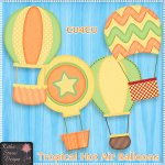 Tropical Hot Air Balloons - CU4CU
