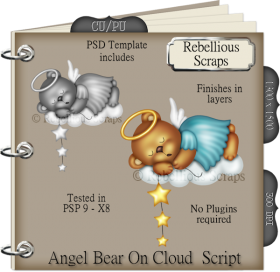 Angel Bear On Cloud Script