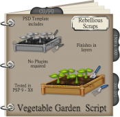 Vegetable Garden Script